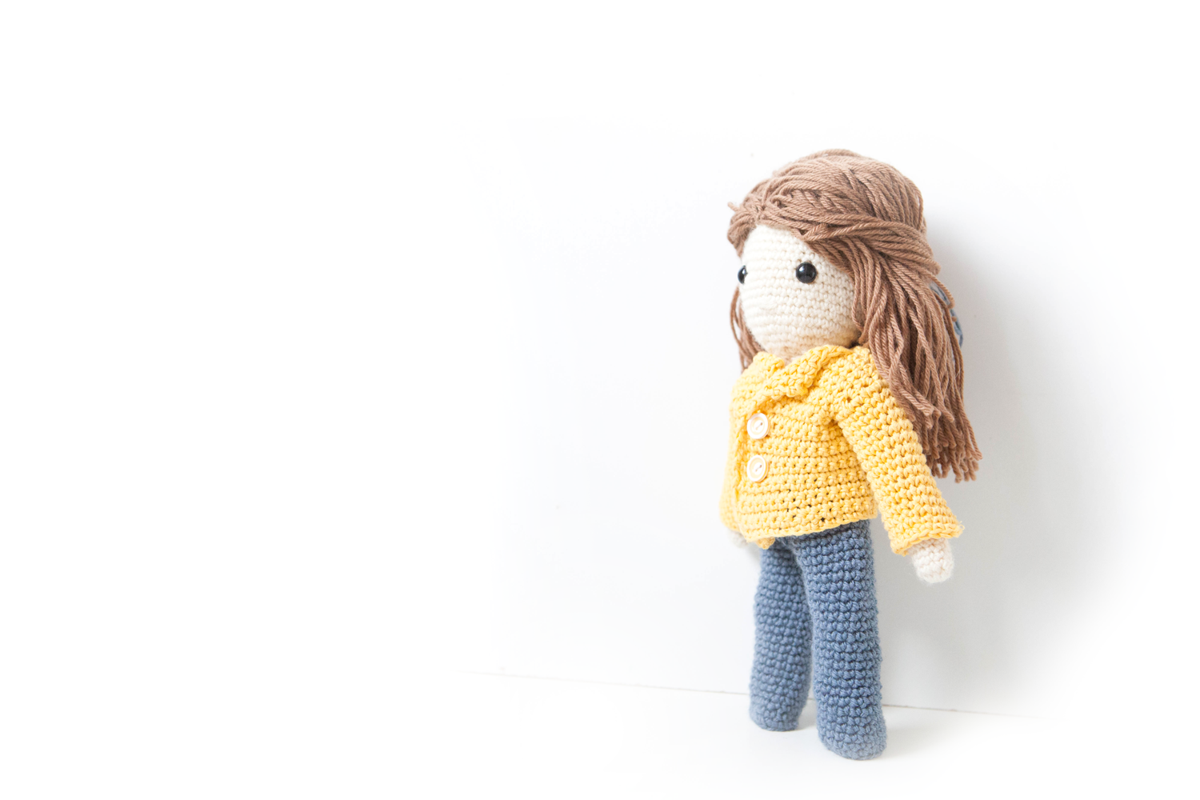 Ma poupée au crochet