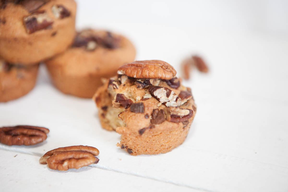 Muffin Cookies Chocolat et Noix de Pécan