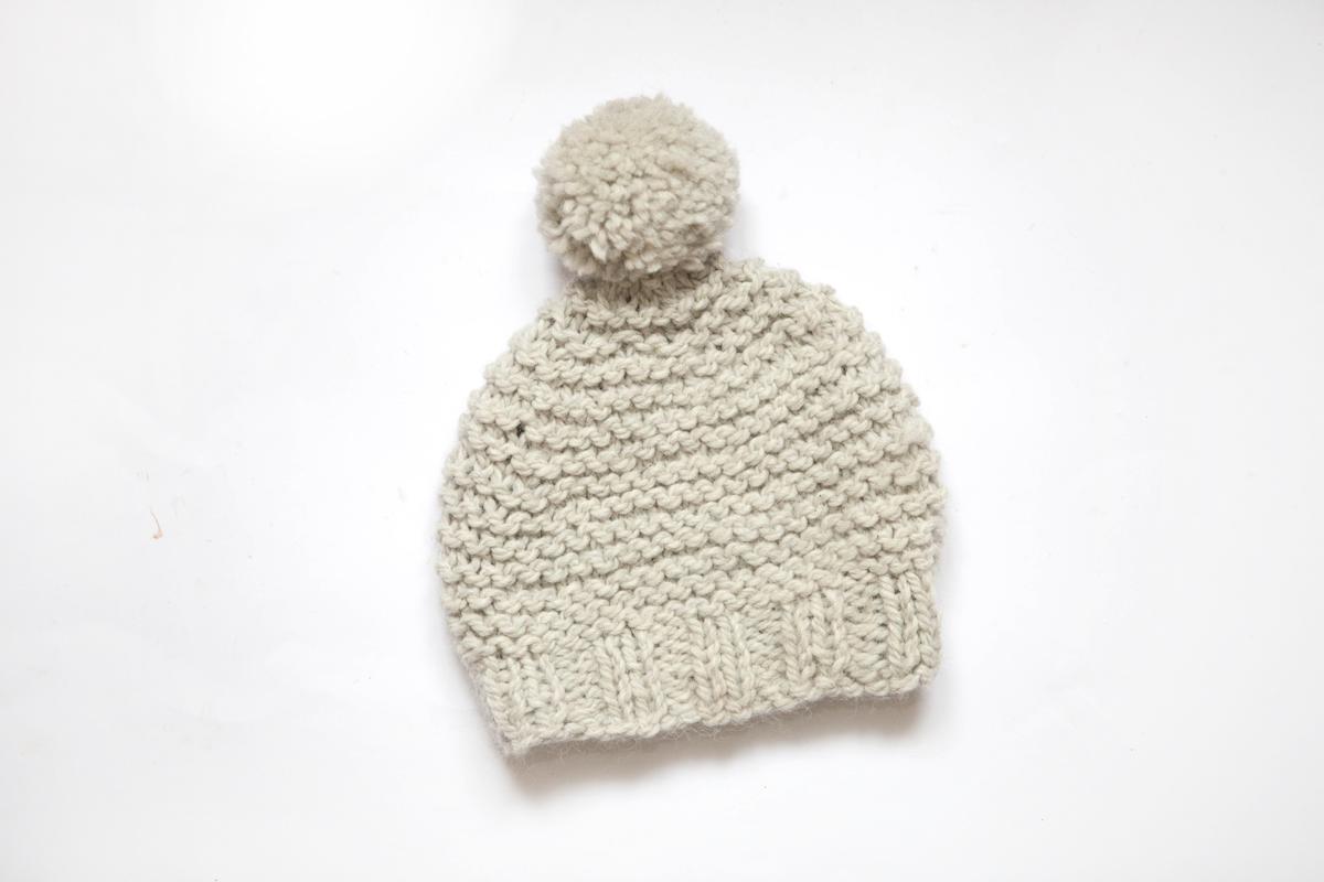Un bonnet pour l'hiver
