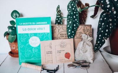 Mon Petit Coin Vert – La Box de jardinage BIO